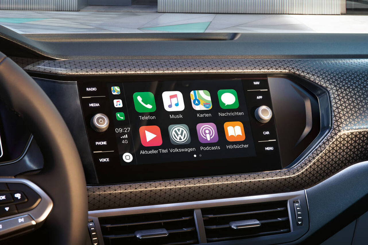 VW T-Cross - Car-Net App Connect