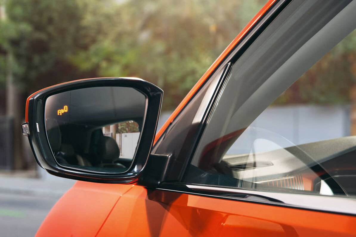 VW T-Cross - Blind Spot senzor