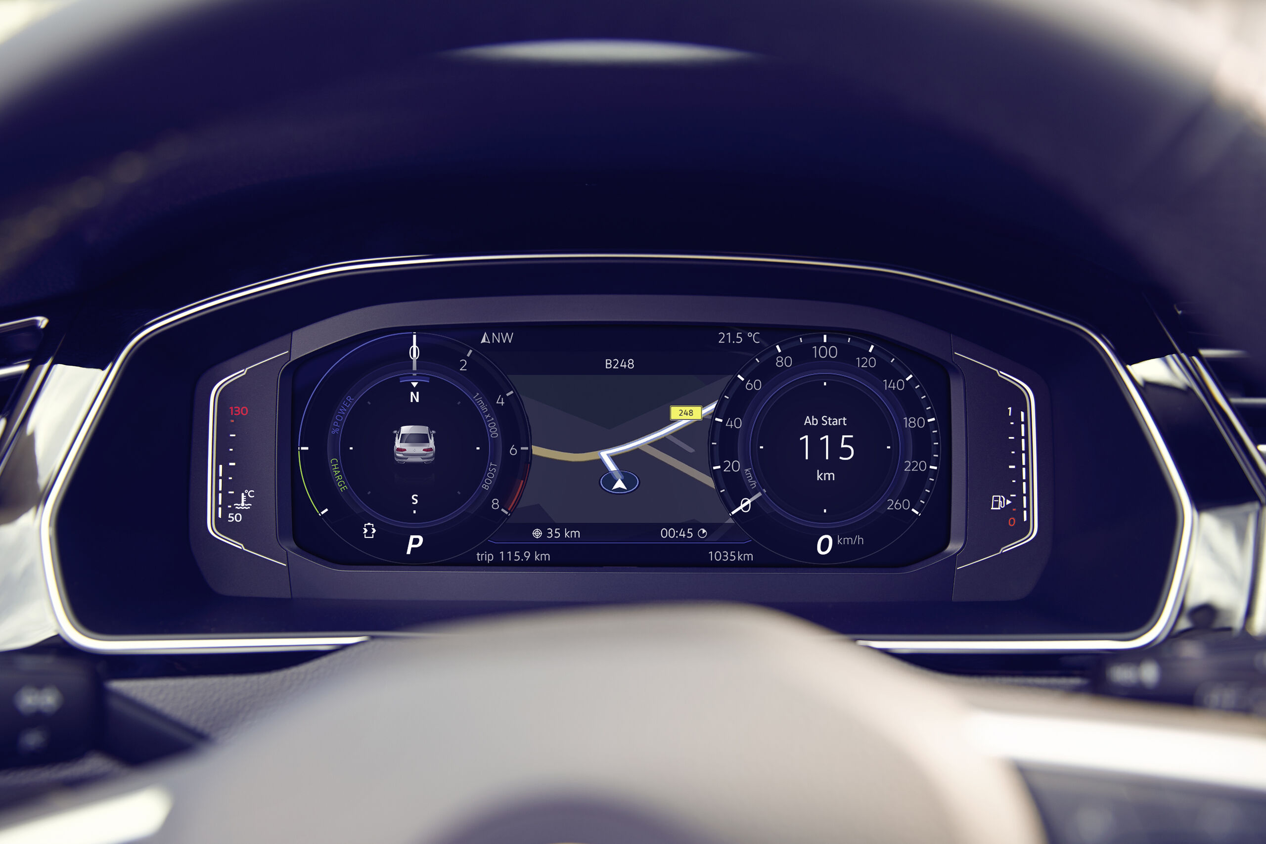 VW Passat Alltrack - Digital Cockpit