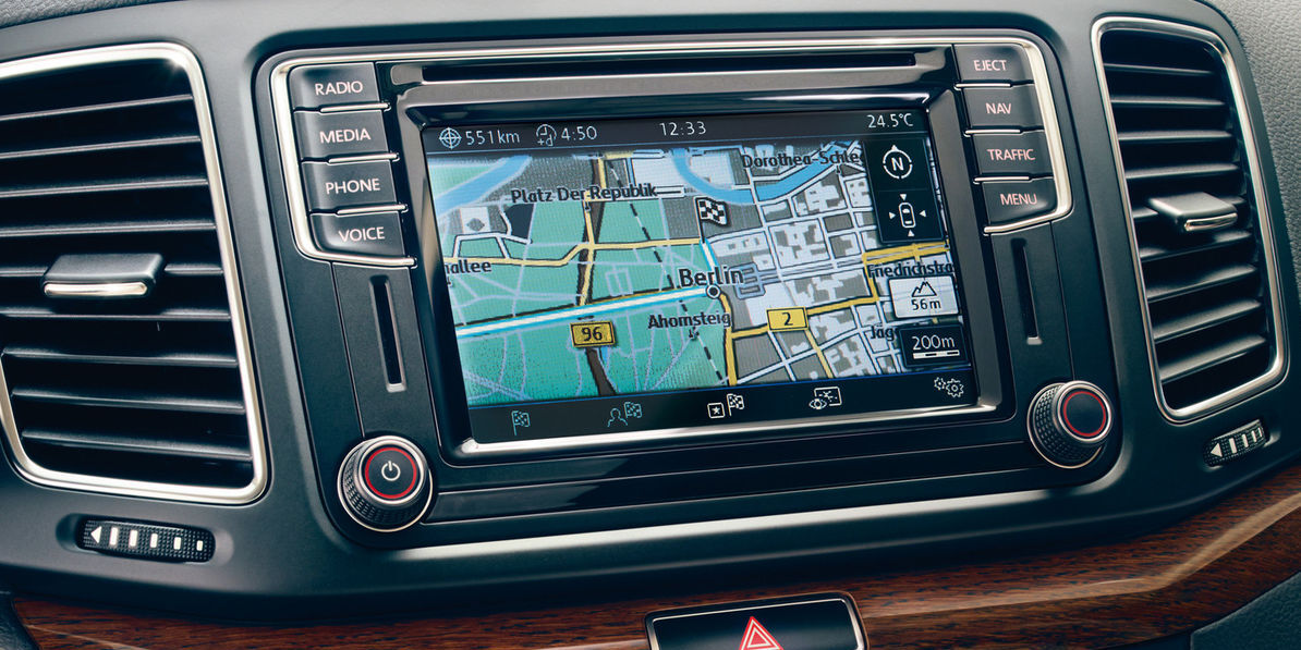 VW Sharan - Car-Net Guide and Inform