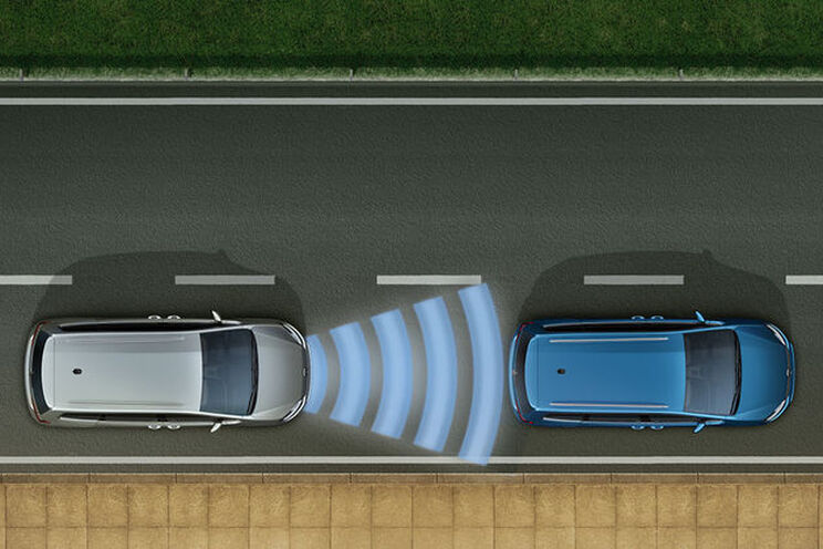 VW Sharan - ACC and Front Assist