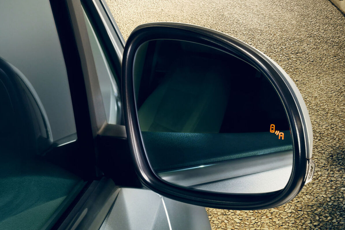 VW Sharan - Blind-Spot senzor
