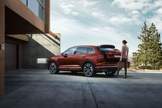 vw touareg easy open and easy close