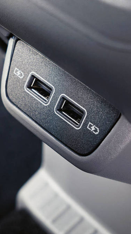 VW T-Cross - USB porty