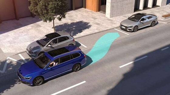 VW Passat - Park Assist